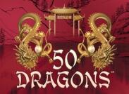 50 Dragons Slot Logo