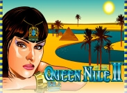Queen Of the Nile Slot Logo