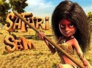 Safari Sam Slot Logo