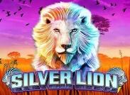 Silver Lion Slot Logo