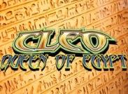 Cleo Queen Of Egypt Slot Logo