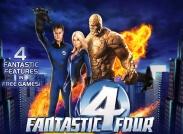 Fantastic Four Slot Logo