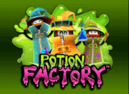 Potion Factory Slot Logo