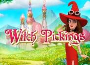 Witch Pickings Slot logo