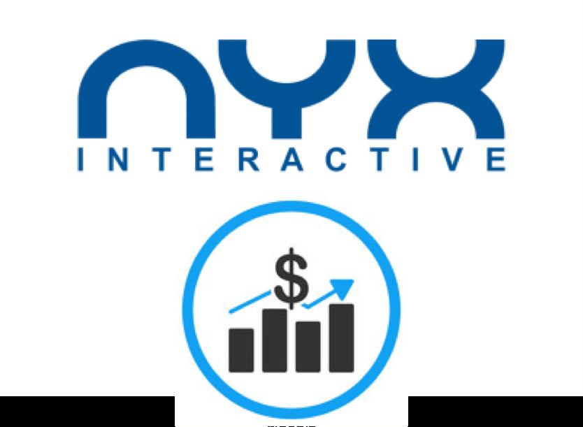 NYX Interactiven tulot kasvaneet
