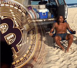 Kasinojohtaja vaihtaa työn ja talon bitcoiniin