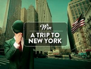 Voita uuden vuoden matka New Yorkiin Mr Greeniltä