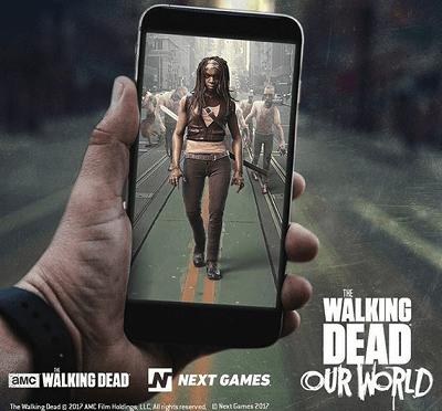 """Suomalaisen yrityksen AR-pohjainen """"Walking Dead"""" -peli"""