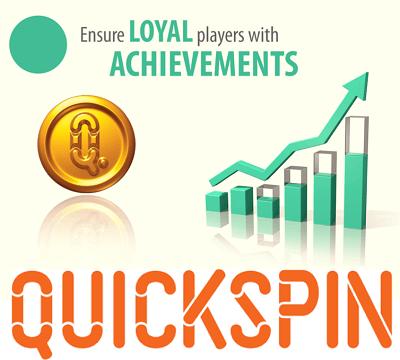 Quickspin kasvattaa saavutusmoduulisalkkuaan
